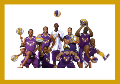The Hoop Magicians basketball team.